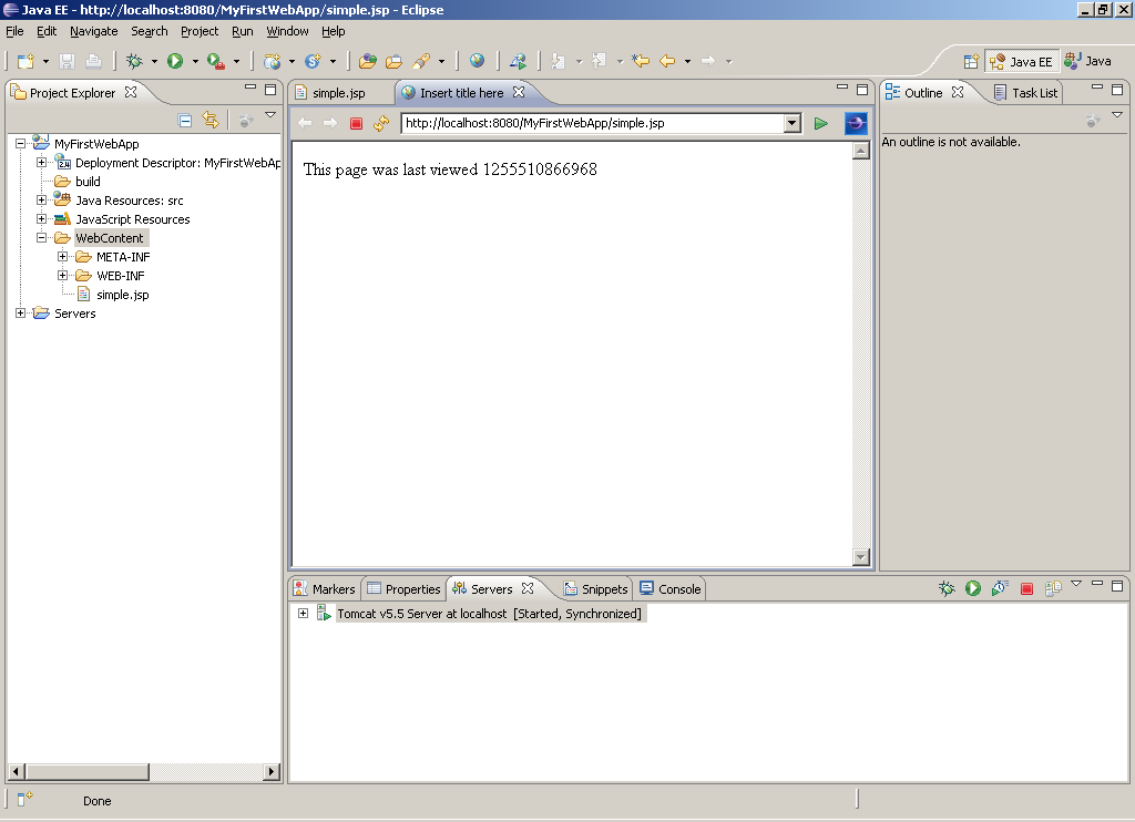 Part 1  Getting Started with Web Development using Eclipse – Al